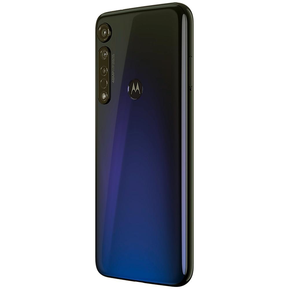 Celular Motorola Moto G8 Plus 64gb Azul Safira Dual Xt2019-2