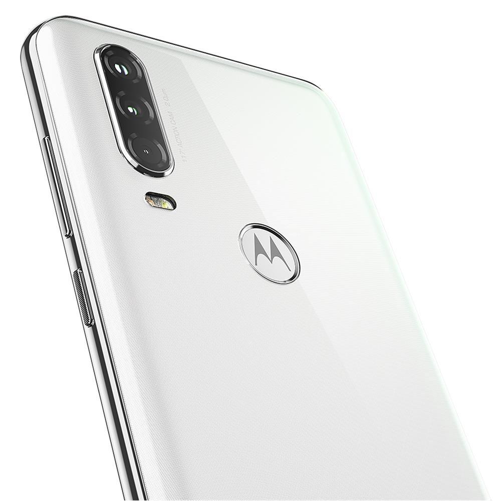 Celular Motorola One Action 128gb Branco Dual Android Tela 6,3