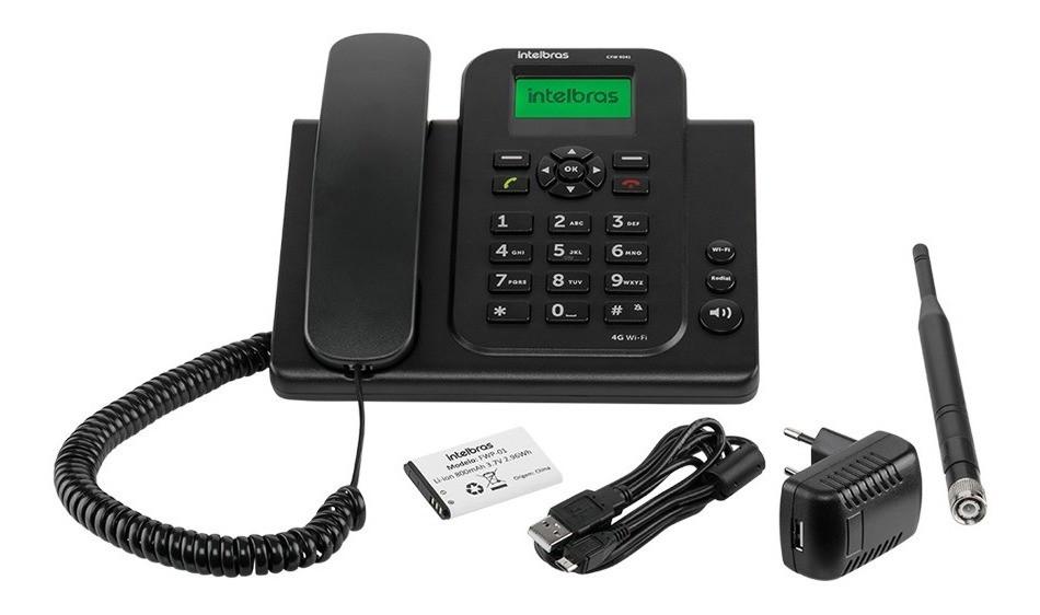 Celular Rural Fixo 4g Wifi Intelbras Cfw 9041 1 chip