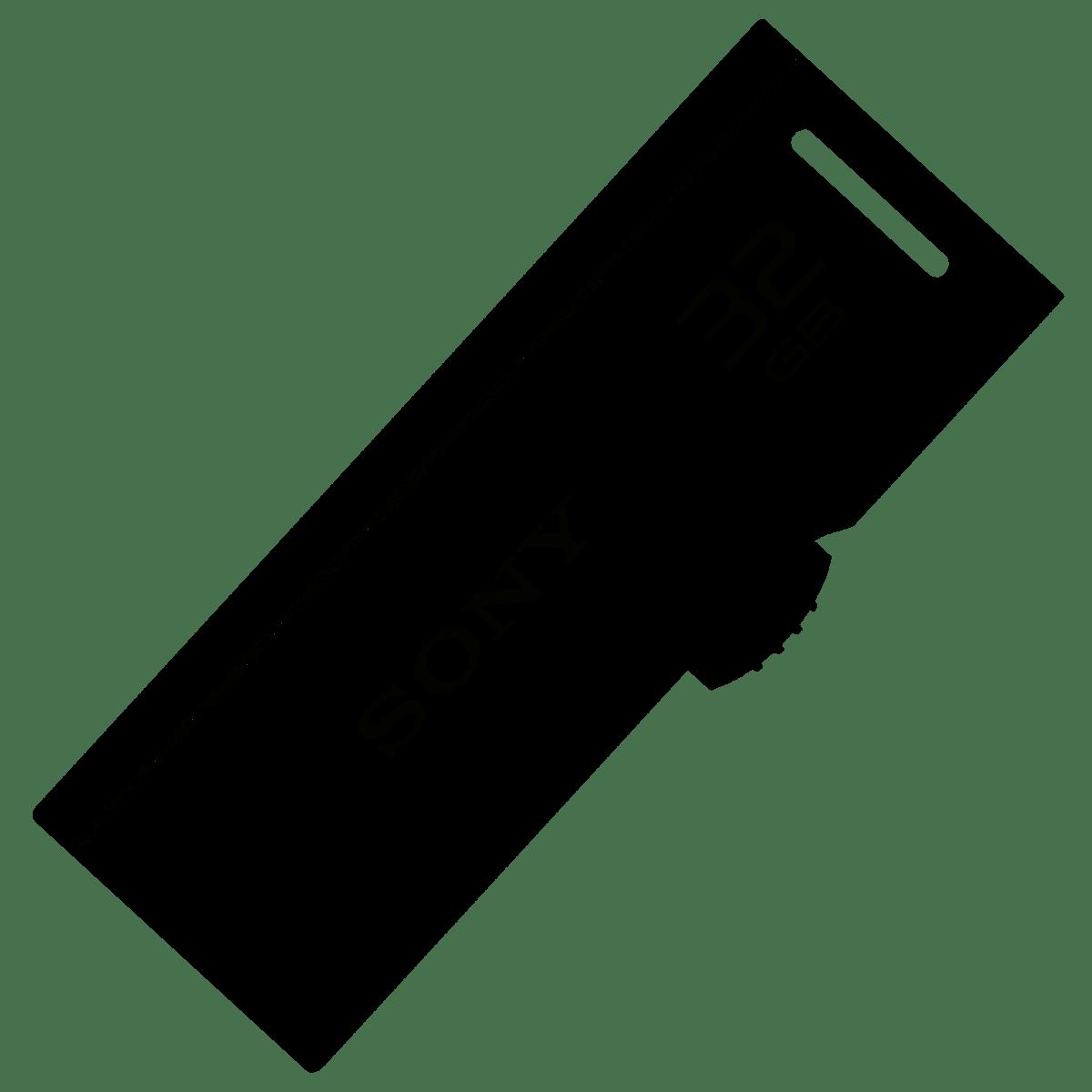 Pen Drive 32gb USB 2.0 Sony preto USM32GR/BM lacrado