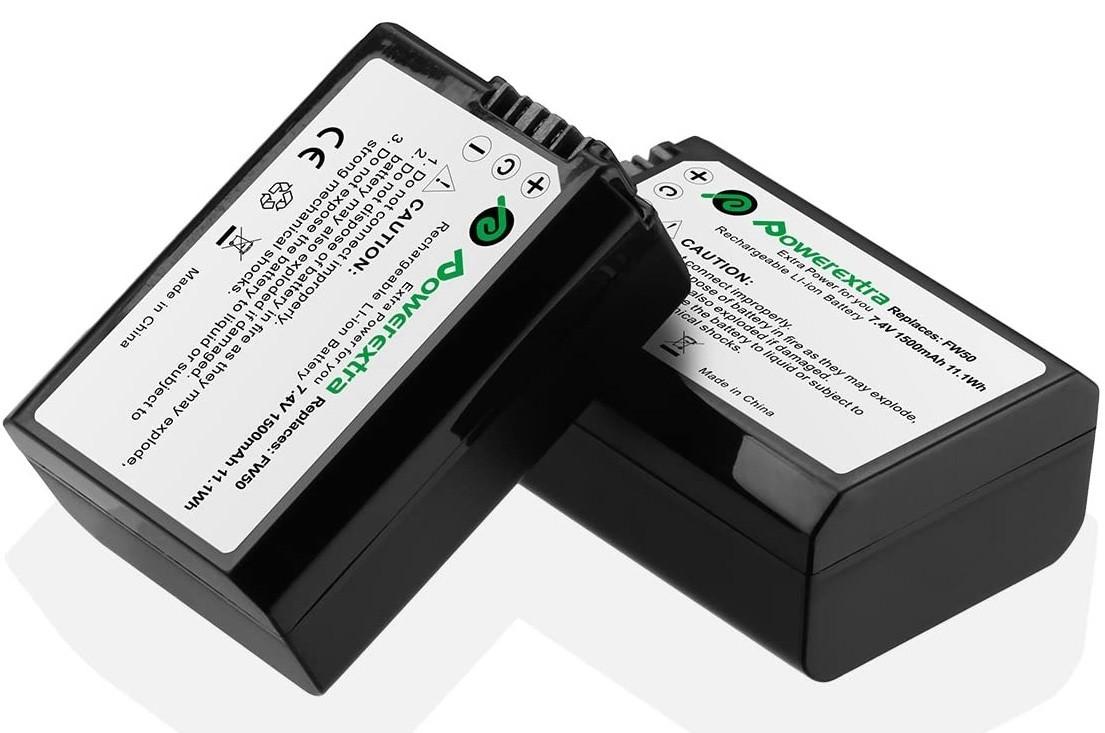 Bateria Sony FW50 - Similar