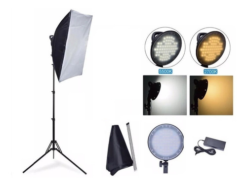 ILUMINADOR LED PARA MAX 45 SOFTBOX 50X70