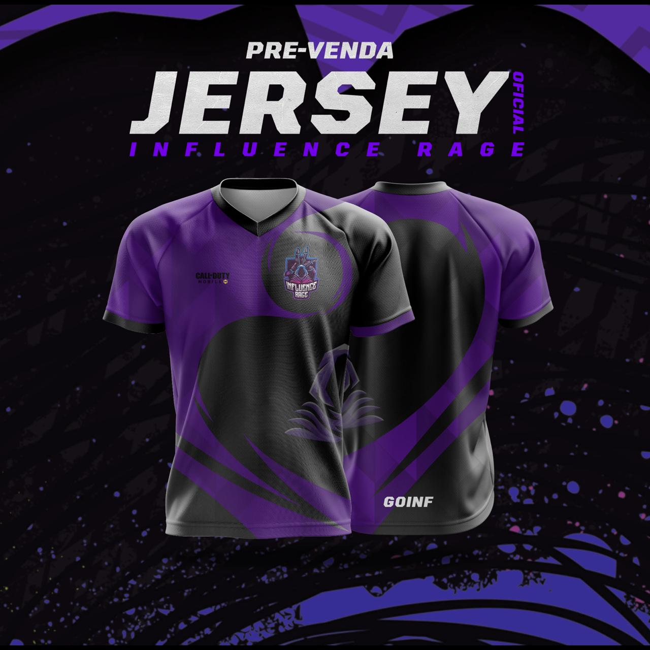 Jersey Influence Rage - Oficial (CALL OF DUTY - MOBILE)
