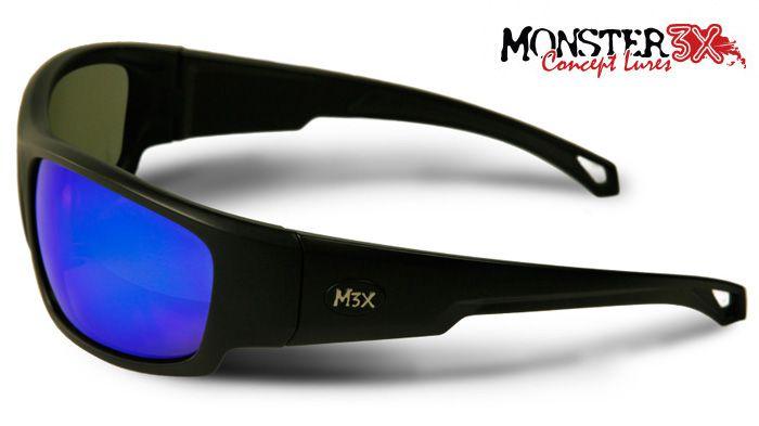 ccc97dfdb Óculos Polarizado Black Monster 3x - Lente Azul - Loja Pesca Show