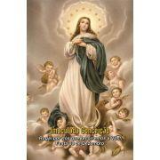 Santinhos da Imaculada Conceição - Milheiro