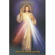 Santinhos de Jesus Misericordioso - Milheiro