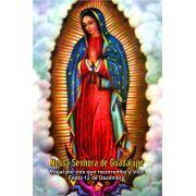 Santinhos de Nossa Senhora de Guadalupe - Milheiro