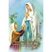 Santinhos de Nossa Senhora de Lourdes - Milheiro