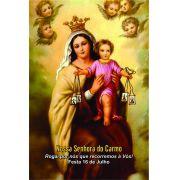 Santinhos de Nossa Senhora do Carmo - Milheiro