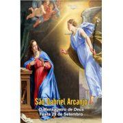Santinhos de São Gabriel Arcanjo - Milheiro