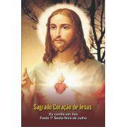 Santinhos do Sagrado Coração de Jesus - Milheiro