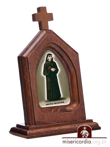 Capelinha de Santa Faustina  - Ruah Artigos Católicos