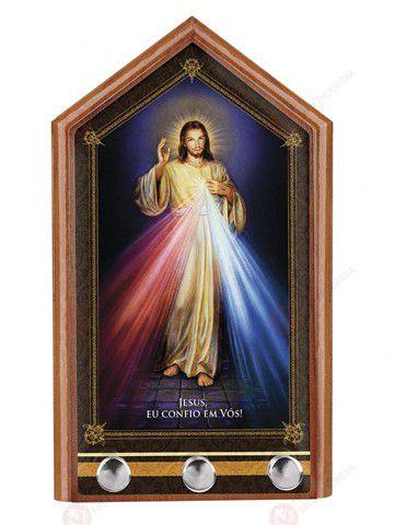 Porta-Chaves de Jesus Misericordioso  - Ruah Artigos Católicos