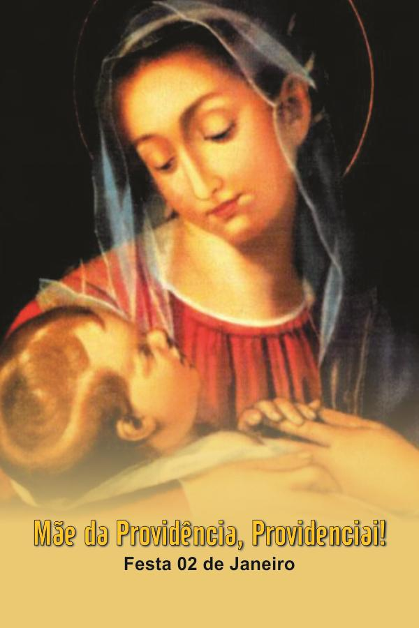 Santinhos da Mãe da Providência - Milheiro  - Ruah Artigos Católicos