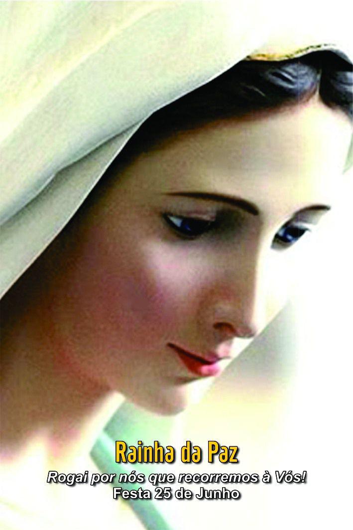 Santinhos da Rainha da Paz - Milheiro  - Ruah Artigos Católicos