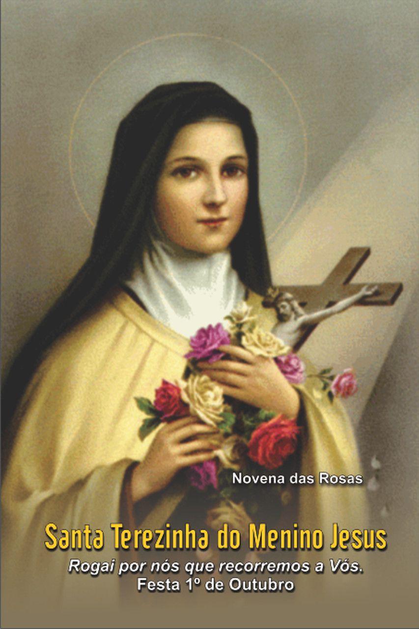 Santinhos de Santa Terezinha do Menino Jesus - Milheiro  - Ruah Artigos Católicos
