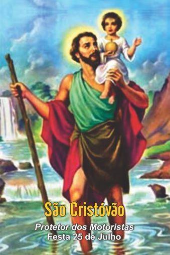 Santinhos de São Cristóvão - Milheiro  - Ruah Artigos Católicos