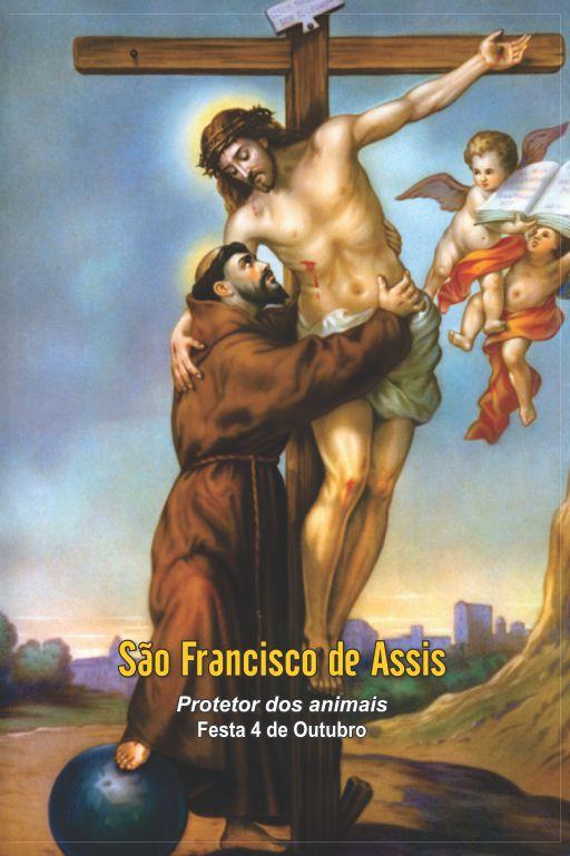 Santinhos de São Francisco de Assis - Milheiro  - Ruah Artigos Católicos