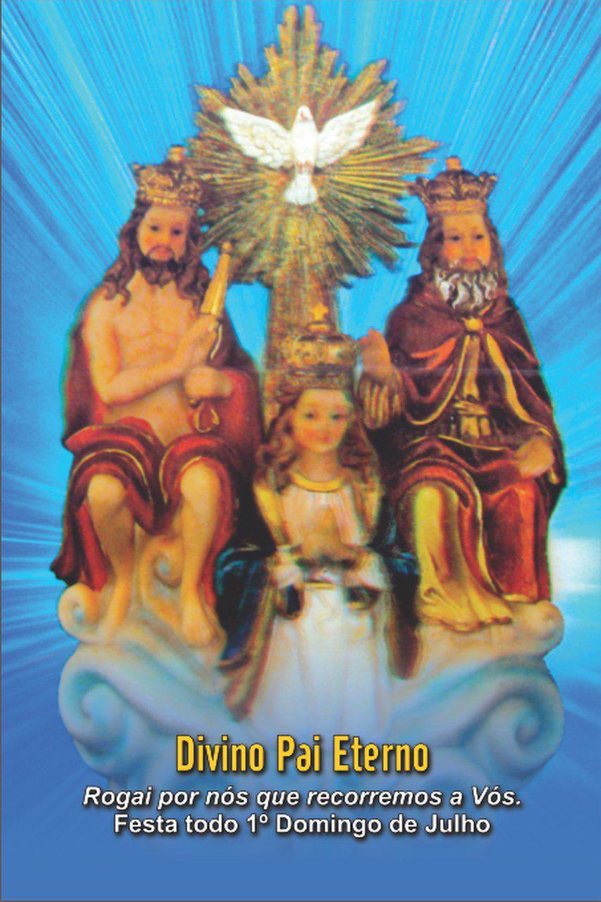 Santinhos do Divino Pai Eterno - Milheiro  - Ruah Artigos Católicos