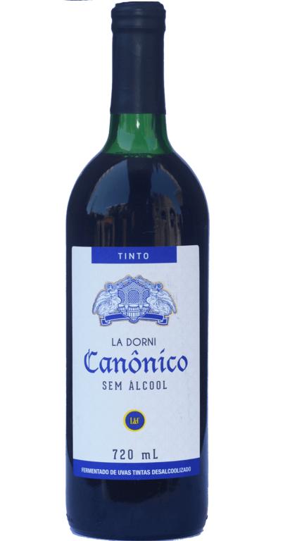 Vinho Canônico João Paulo II Tinto sem álcool - Caixa com 12 Unidades  - Ruah Artigos Católicos