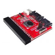 Adaptador / Conversor IDE / SATA para SATA / IDE