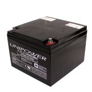 BATERIA 12V - 26AH UP12260 M5 UNIPOWER