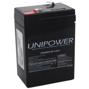BATERIA 6V - 4,5AH UP645 - F187 UNIPOWER
