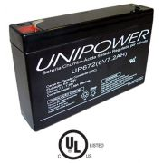 BATERIA 6V - 7,2AH UP672 - F157 UNIPOWER