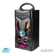 CAIXA DE SOM 12 WATTS CS-M264-MT C/ USB EXBOM