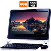 Computador All In One Itautec 4GB HD 500GB Wifi