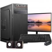 Computador Completo Intel C2D 4GB HD 500GB  Wifi Win10 c/ Monitor