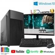 Computador Completo Intel Dual Core 4gb Hd500gb Monitor