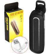Fone De Ouvido com Microfone Bluetooth p/ Celular HBT-20 Infokit