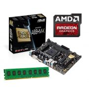 Kit Upgrade Gamer Amd A4 6300 3,9ghz + Mb Asus A68hm-k + 4gb Ram USB 3.0