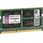 MEMORIA P/ NOTEBOOK DDR3 8GB 1333MHZ KINGSTON
