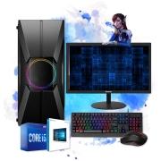 Pc Computador Gamer Completo I5 3GR 8gb Hd 500gb Placa de Vídeo Monitor