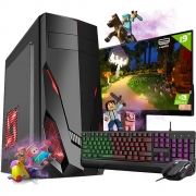 Pc Gamer Completo i3 8gb HD 500 Placa de Video Monitor Hdmi
