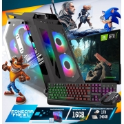 Pc Gamer Completo I7 9700k 16gb SSD 240 HD 1TB Placa de Video