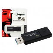 PEN DRIVE - 8GB - KINGSTON DATATRAVELER 100 USB 3.0