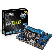 PLACA MÃE ASUS H61M-A/BR INTEL LGA 1155 DDR3