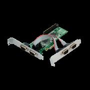 PLACA PCI-EXPRESS 4 SERIAL F-NEW