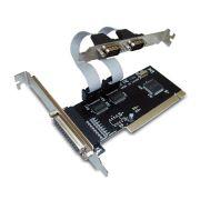 Placa PCI-Express Multiserial Encore ENEPC-2S1P - 2 Portas Seriais e 1 Paralela