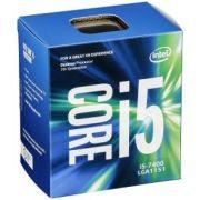Processador I-5 7400 3,00Ghz 6GB LGA 1151 Intel.