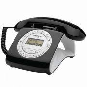Telefone Tc-8312 Preto c/Identificador Intelbras