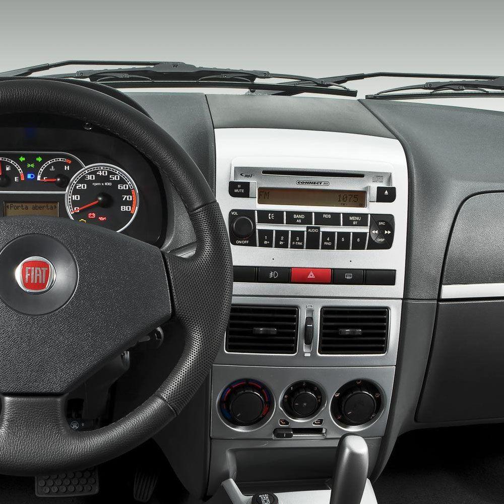 Aparelho de Som original Fiat Palio - Siena - Strada - 08 a 12 - Cod. 100193520