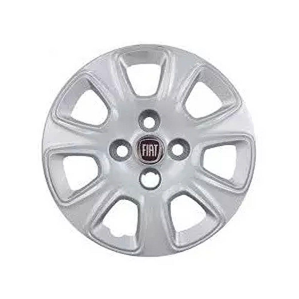Calota Aro 13 Cinza Metalizado Fiat Mobi Original Cod. 100186761