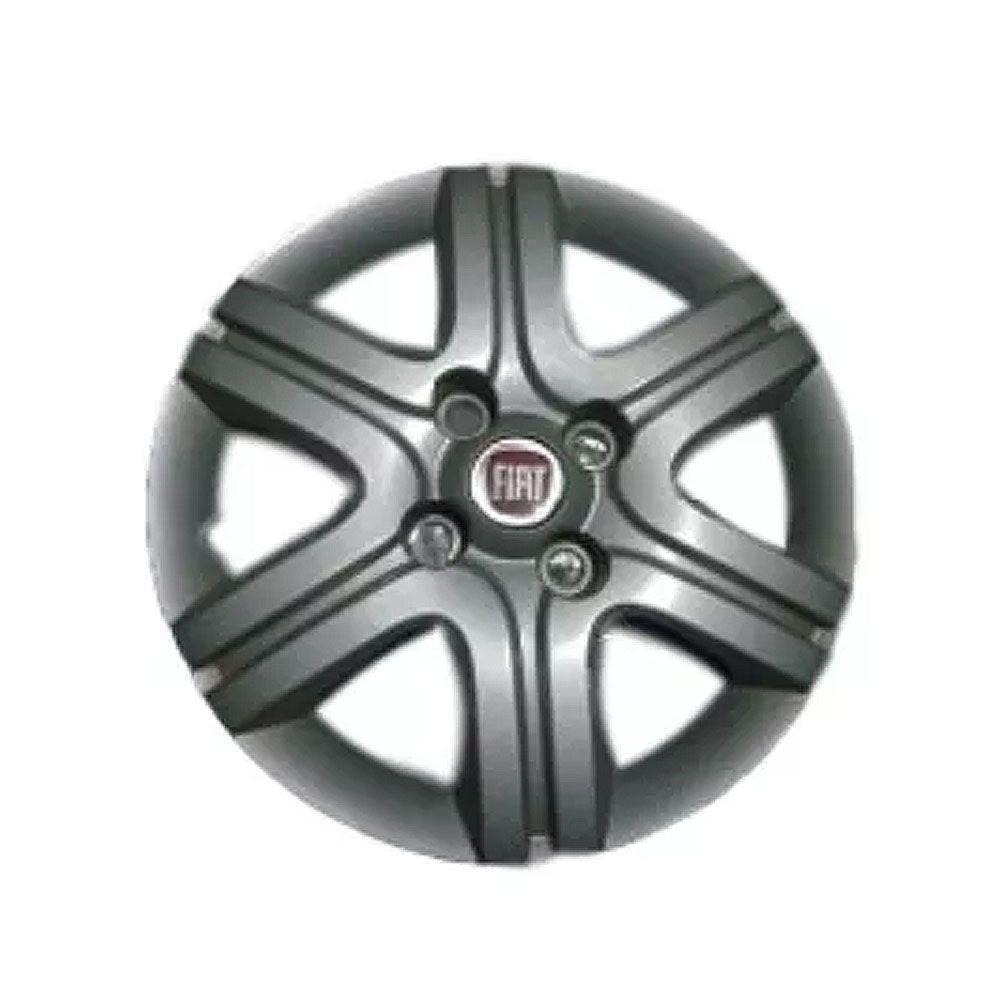 Calota Aro 13 Cinza Metalizado Fiat Palio Siena Cod. 100189737