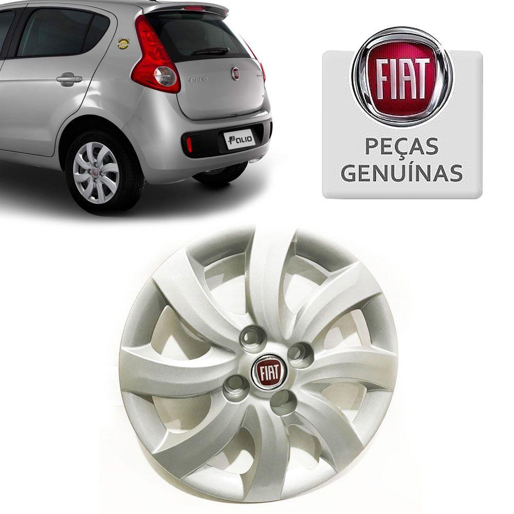 Calota Fiat Aro 14 Fiat Novo Palio 2012/2018 (UNITÁRIO) Cod. 100196604