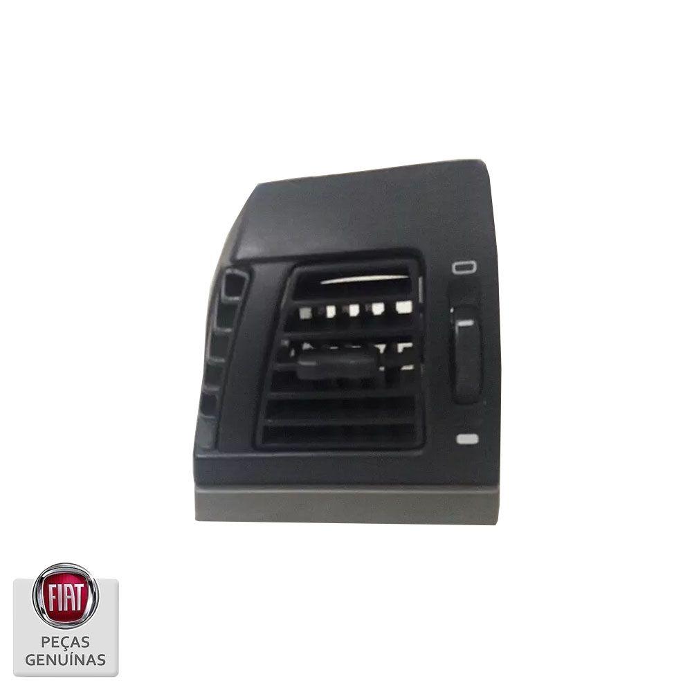 Difusor De Ar Painel Principal Fiat Idea Adventure Lado Esquerdo Cinza Cod. 735515777