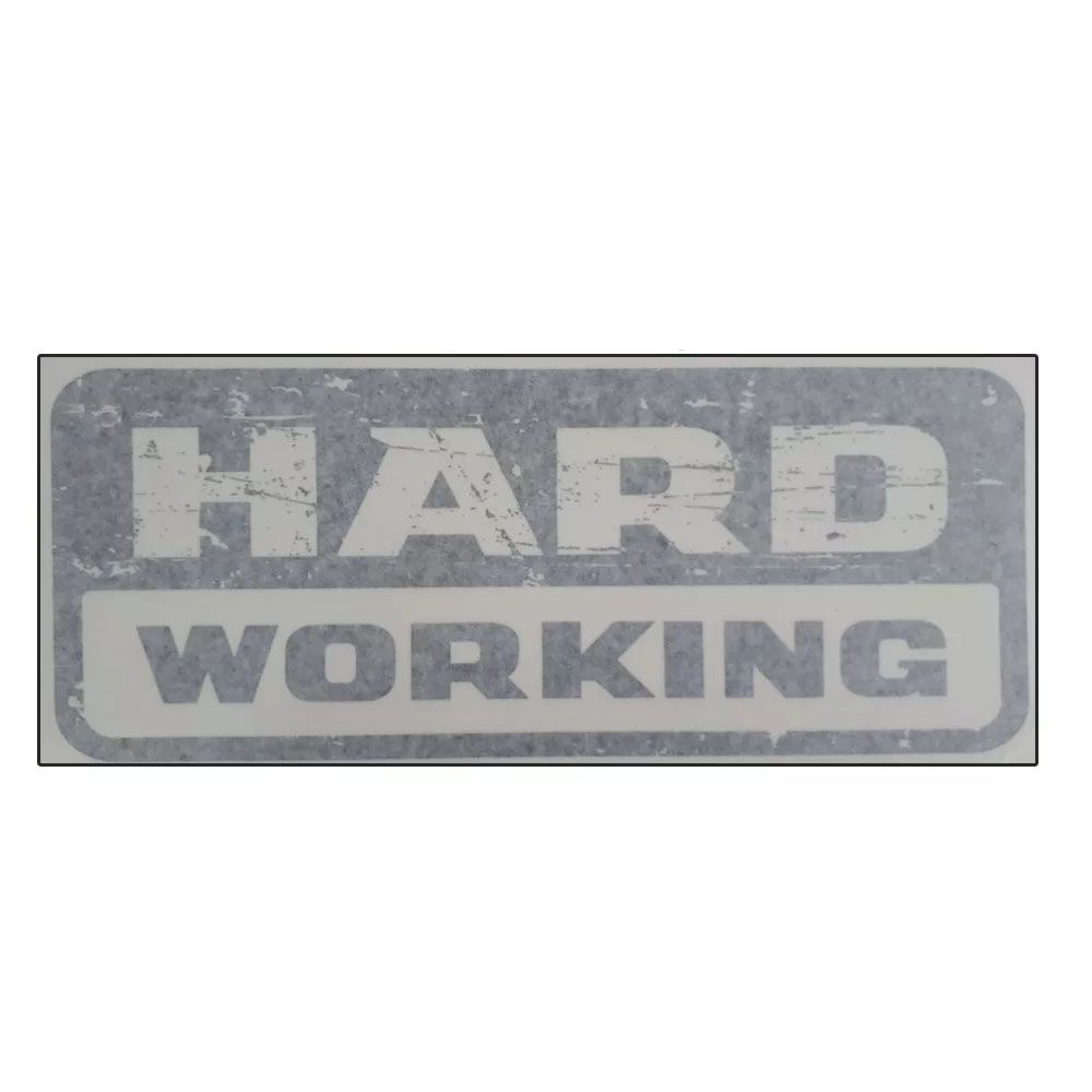 Emblema Adesivo Original Fiat Hard Working Strada 2018 Cod. 100249389